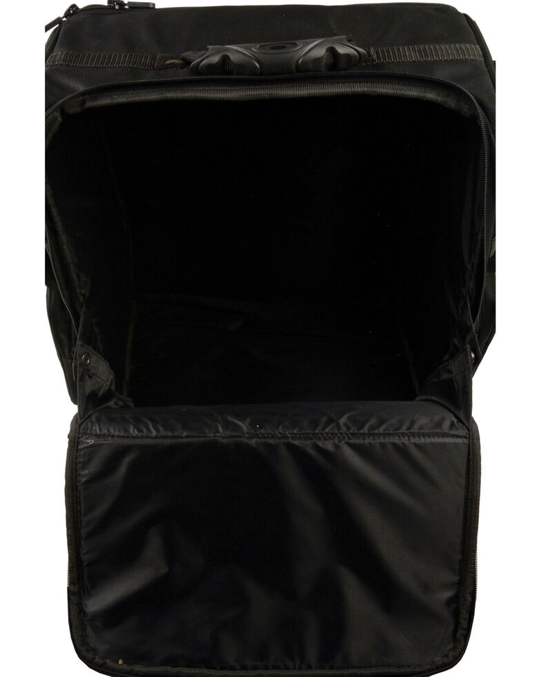 Milwaukee Leather Large Two Piece Nylon Sissy Bar Bag, Black, hi-res