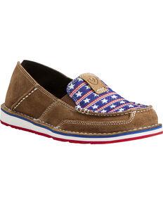 Ariat Women's Americana Cruiser Shoes, Brown, hi-res