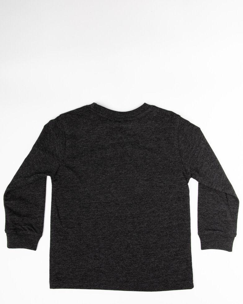 John Deere Toddler Boys' On The Move Graphic Long Sleeve Shirt , Black, hi-res