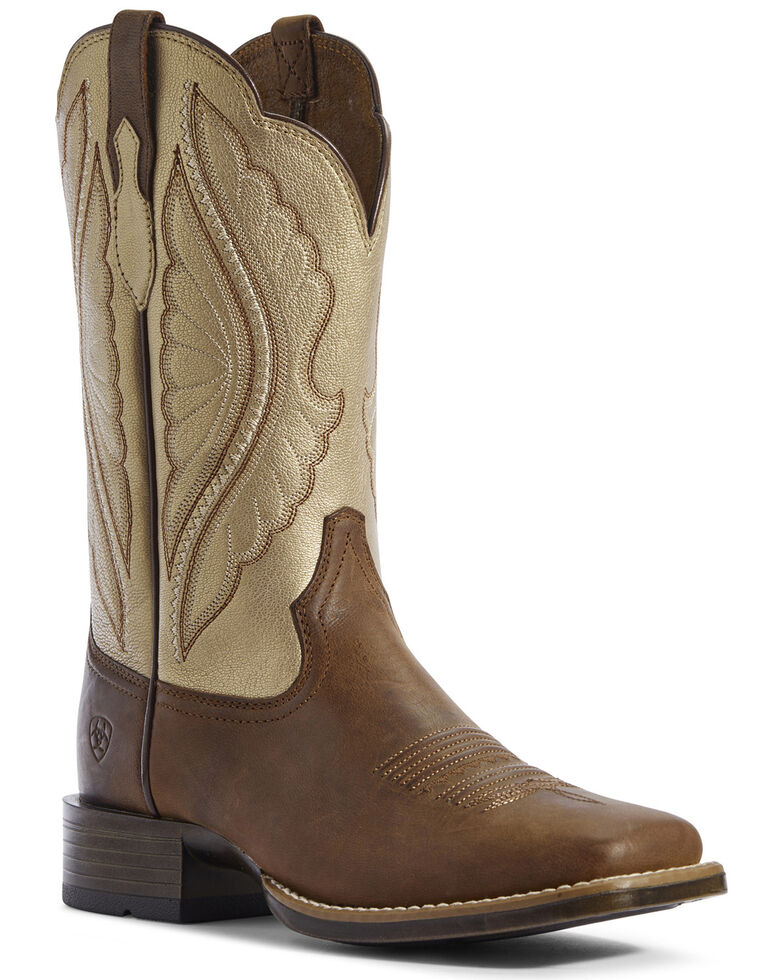 Ariat Women's Primetime Sassy Western Boots - Wide Square Toe, , hi-res