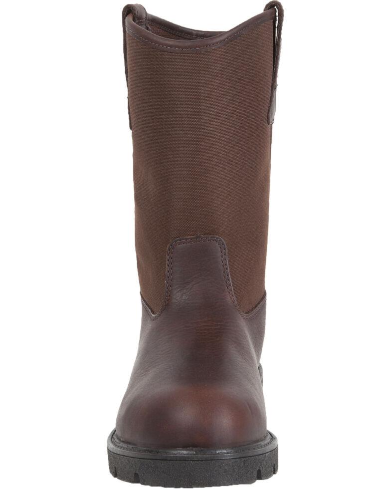 Georgia Men's Homeland Waterproof Wellington Boots, Brown, hi-res