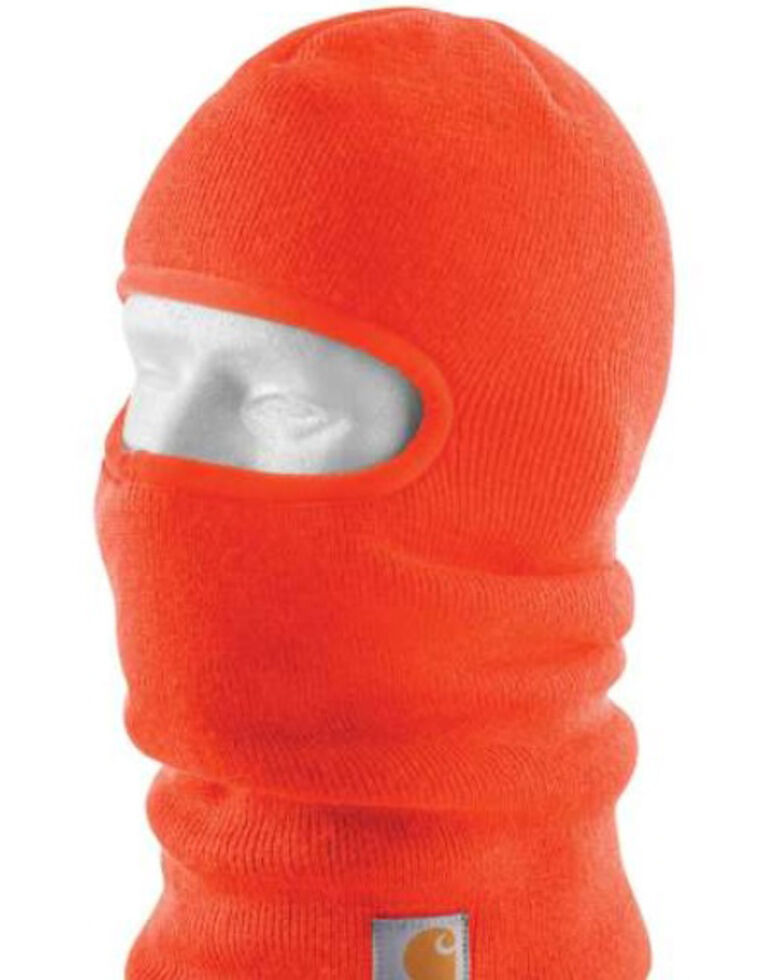 Carhartt Knit Insulated Work Face Mask , Orange, hi-res