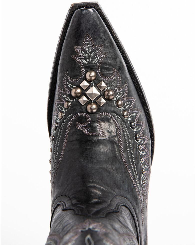 Idyllwind Women's Trouble Black Western Boots - Snip Toe, Black, hi-res