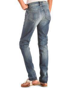 Miss Me Girls' Basic Skinny Jeans , Indigo, hi-res