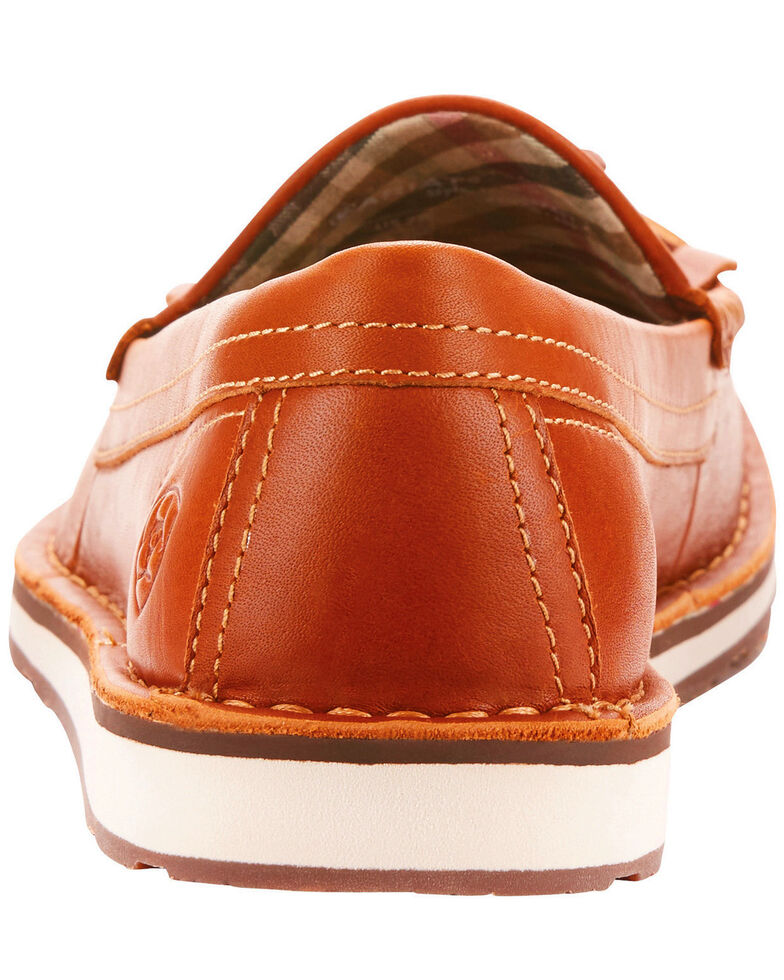Ariat Women's Tassel Cruiser Honeycomb Shoes , Suntan, hi-res