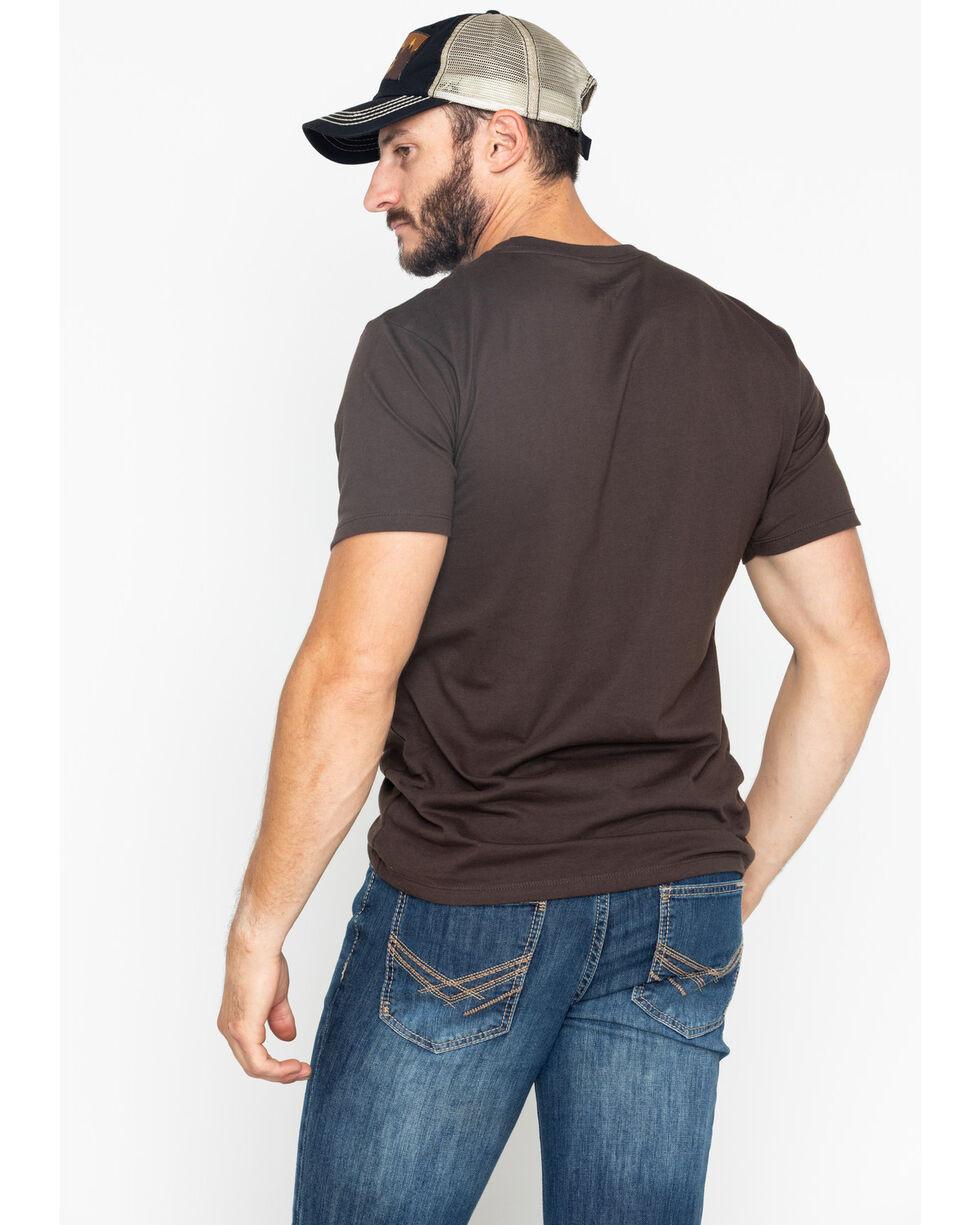 Cody James Men's Tried N True Print T-Shirt , Brown, hi-res