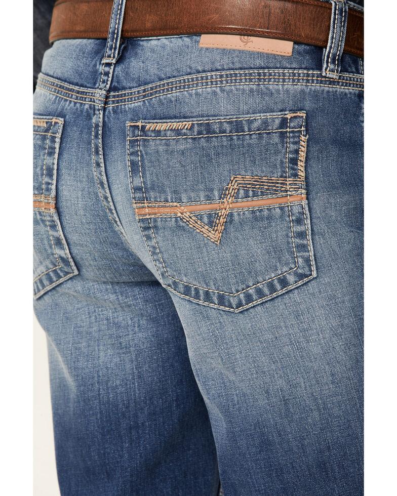 Cody James Core Men's Great Plains Dark Rigid Slim Straight Jeans , Blue, hi-res