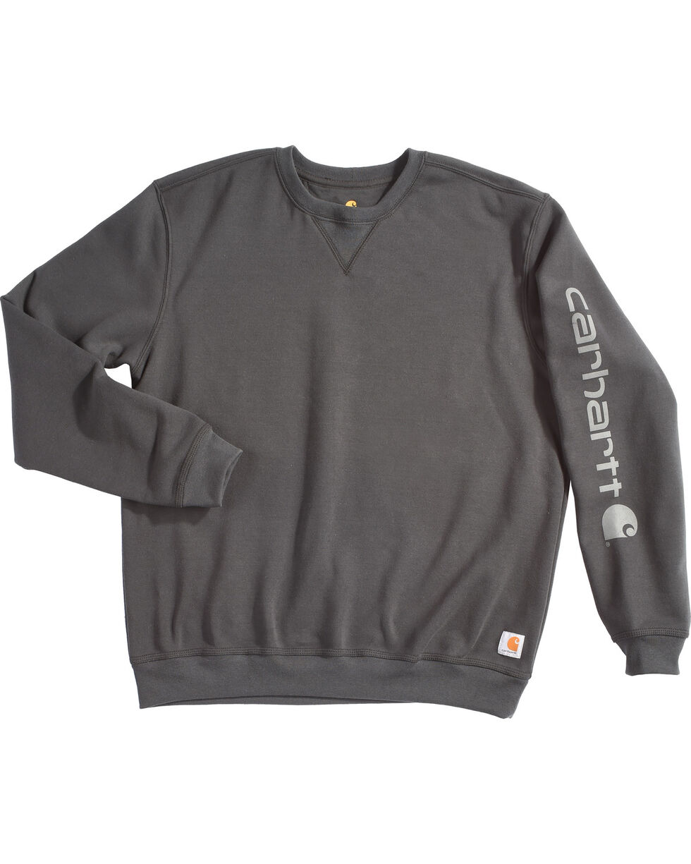 Carhartt Men's Graphic Sleeve Sweatshirt , Black, hi-res