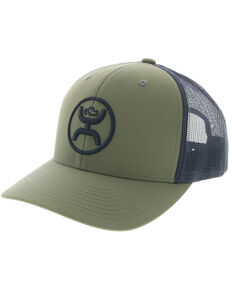 "HOOey Men's ""O"" Classic Ball Cap , Olive, hi-res"