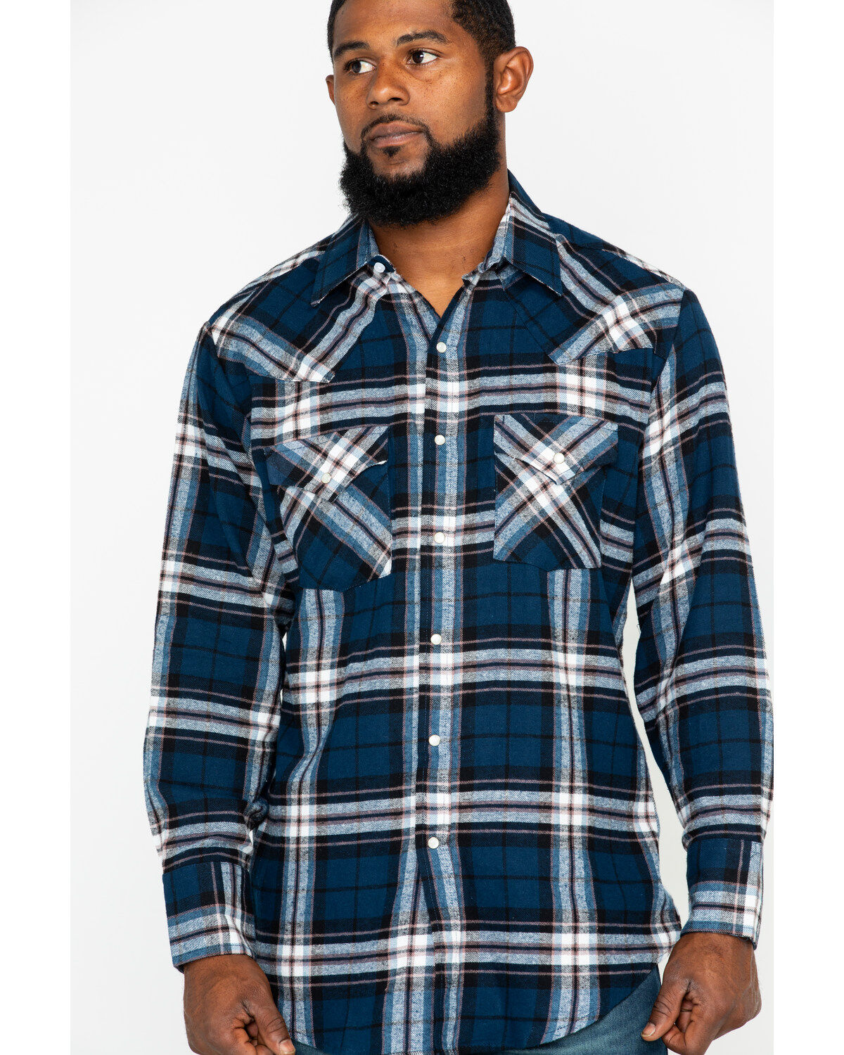 Ely /& Walker Young Mens Long Sleeve Plaid