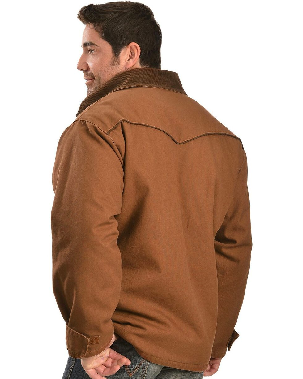 Exclusive Gibson Trading Co. Western Ranch Coat, Shadow Brown, hi-res