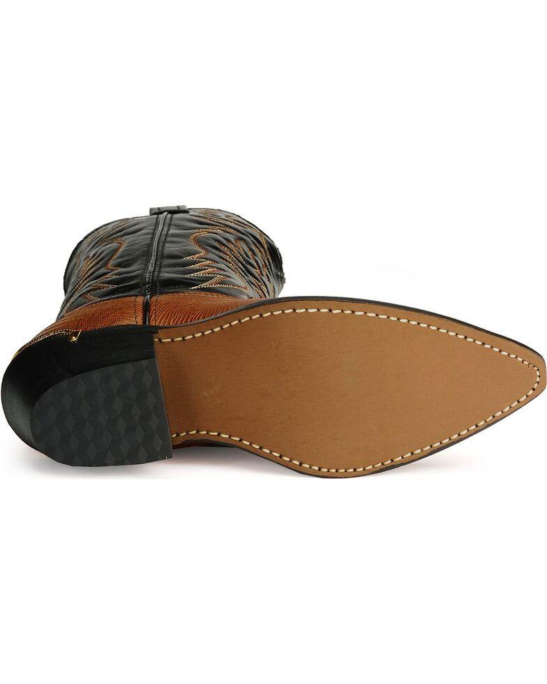 Laredo Men's Atlanta Lizard Print Western Boots, Peanut, hi-res