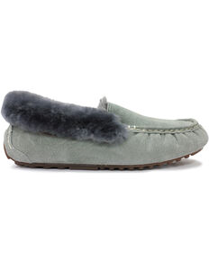 Lamo Footwear Women's Aussie Mocs, Charcoal Grey, hi-res