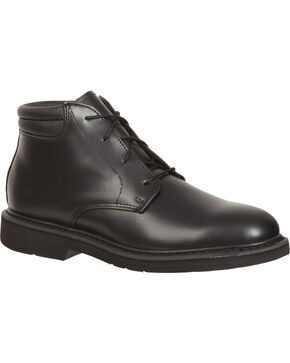 Rocky Men's Professional Dress Chukka Duty Boots, Black, hi-res