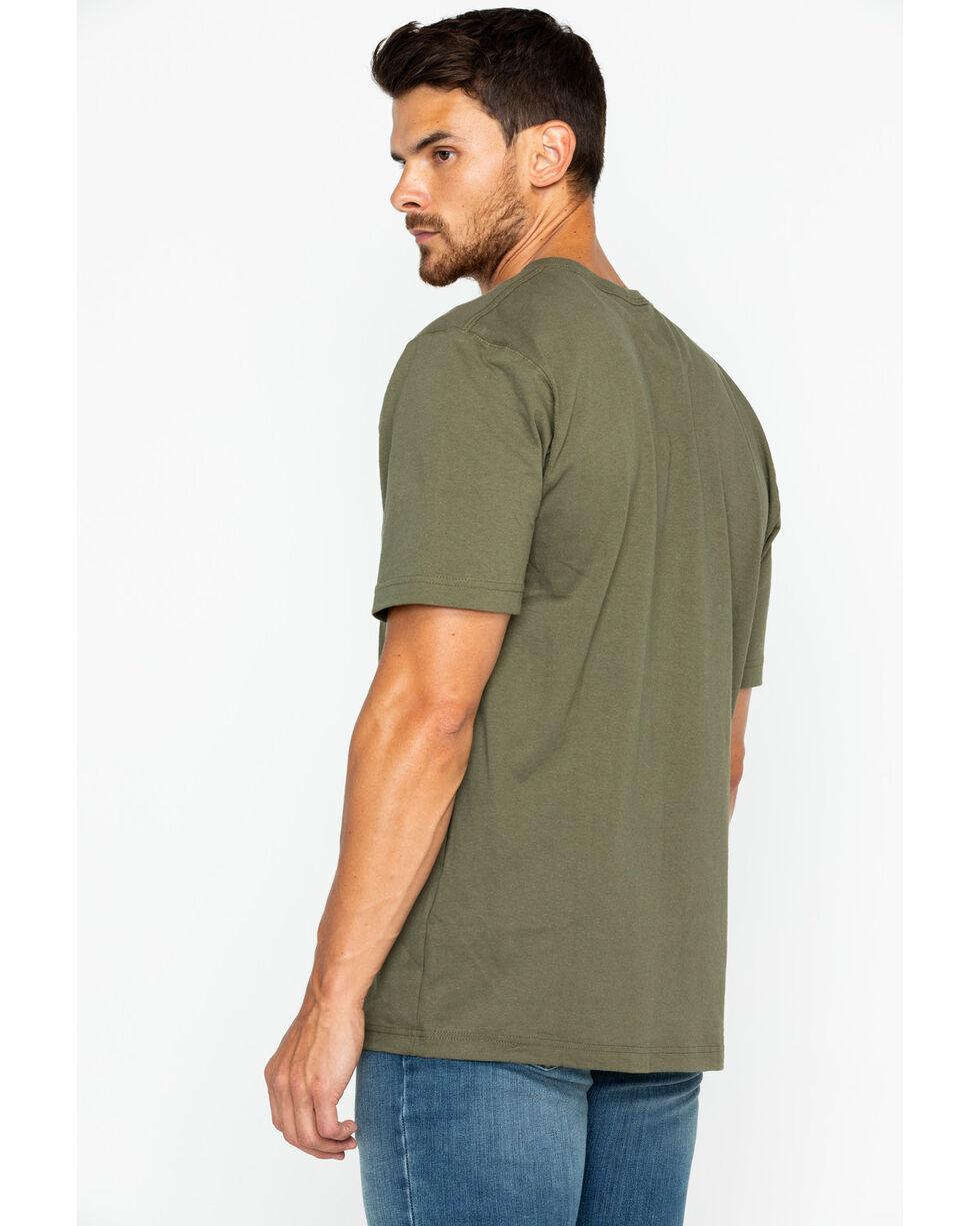 Carhartt Short Sleeve Pocket Work T-Shirt, Army, hi-res