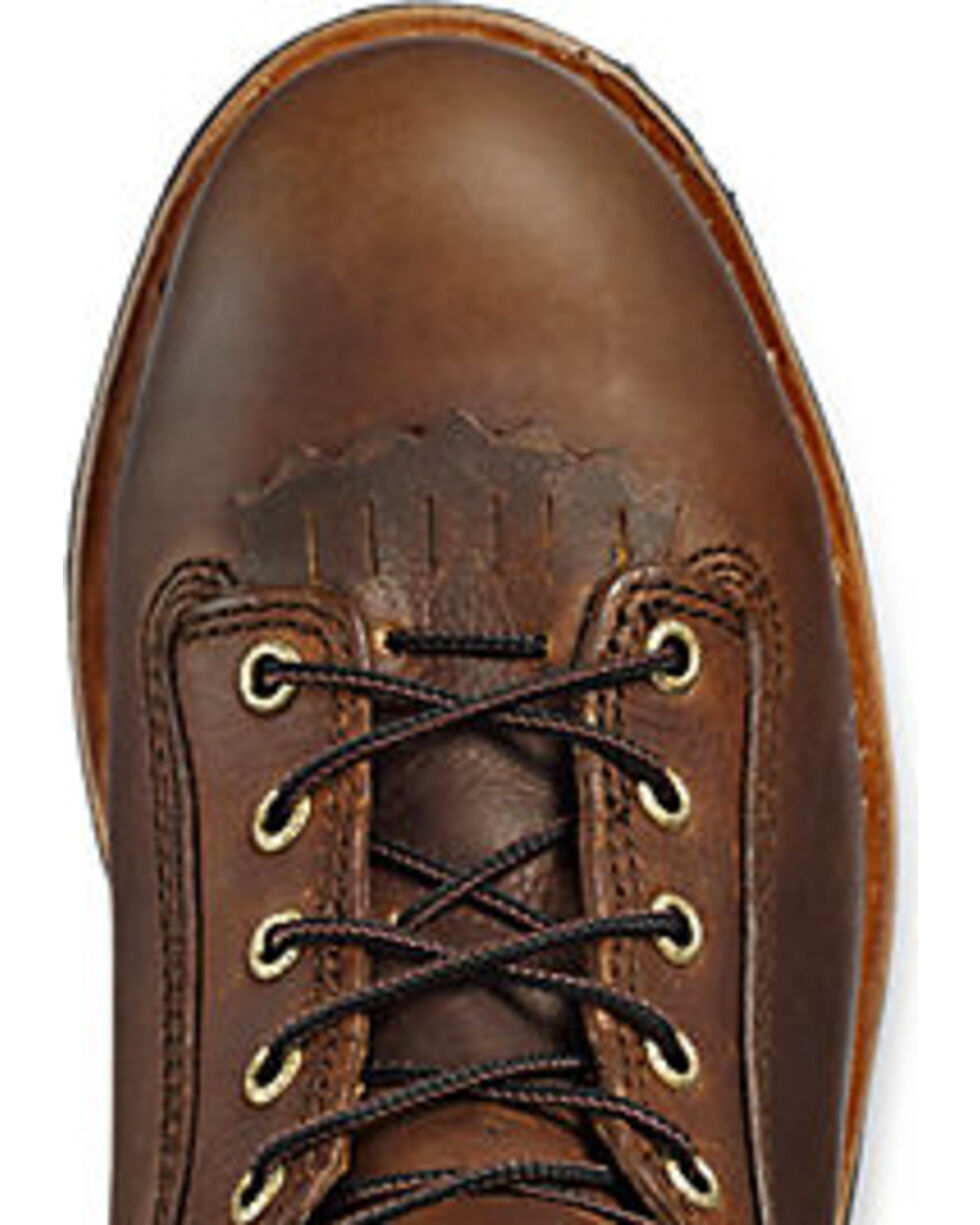 Irish Setter by Red Wing Shoes Men's Mesabi EH Logger Boots - Aluminum Toe , Brown, hi-res