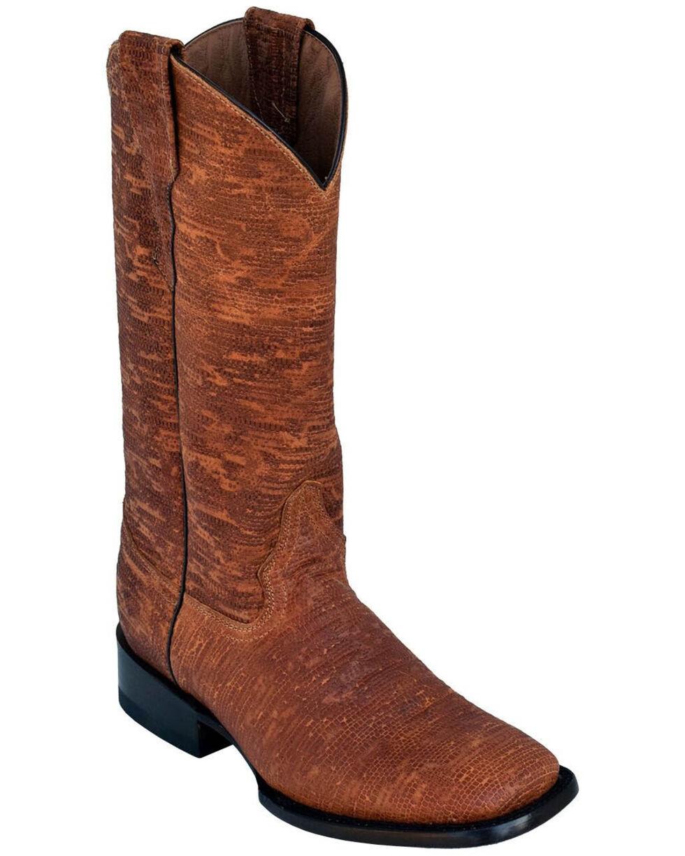 Ferrini Women's Arizona Brown Western Boots - Square Toe, Brown, hi-res