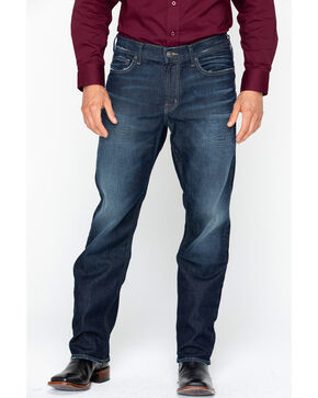 Silver Jeans Men's Grayson Dark Wash Jeans, Indigo, hi-res