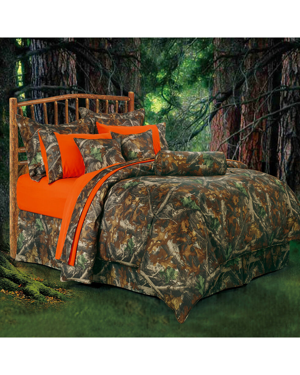 HiEnd Accents Oak Camo Comforter Set, Multi, hi-res