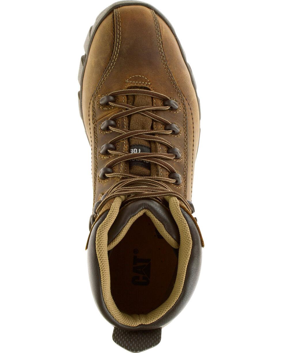 CAT Men's Composite Toe Nitrogen Work Boots, Brown, hi-res