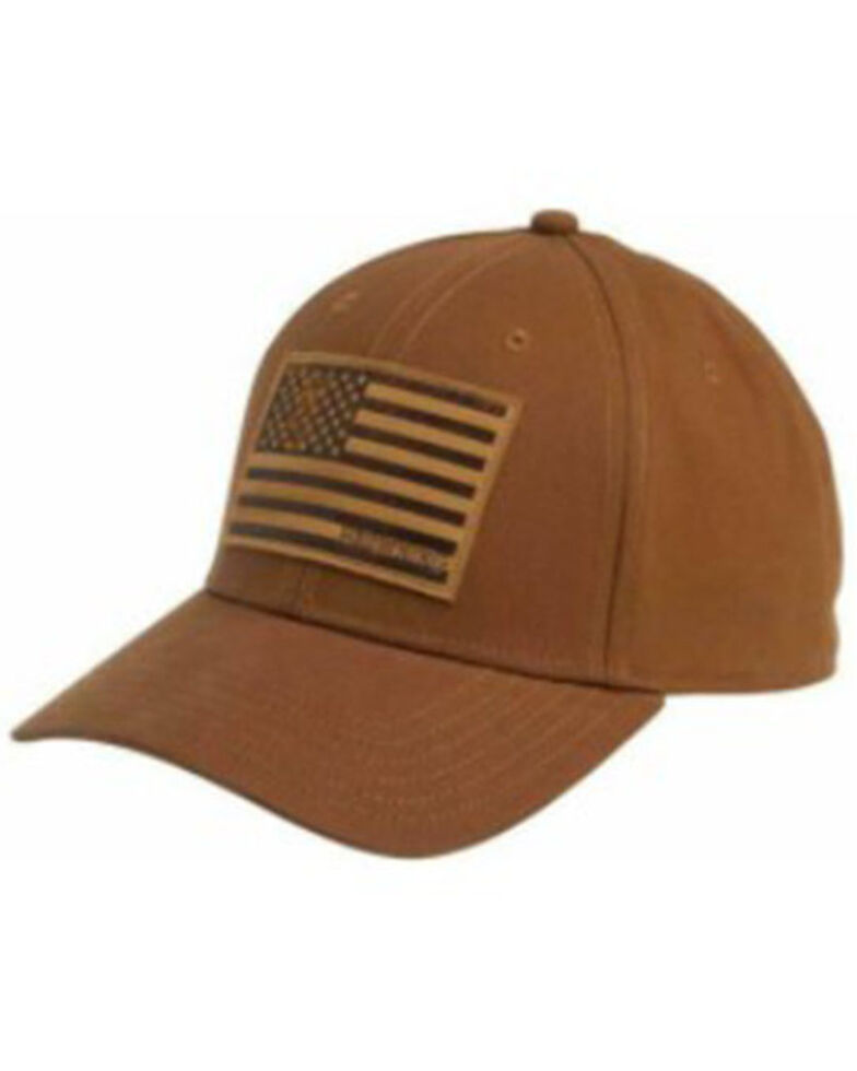 Browning Women's Browning Company Leather Patch Cap , Brown, hi-res