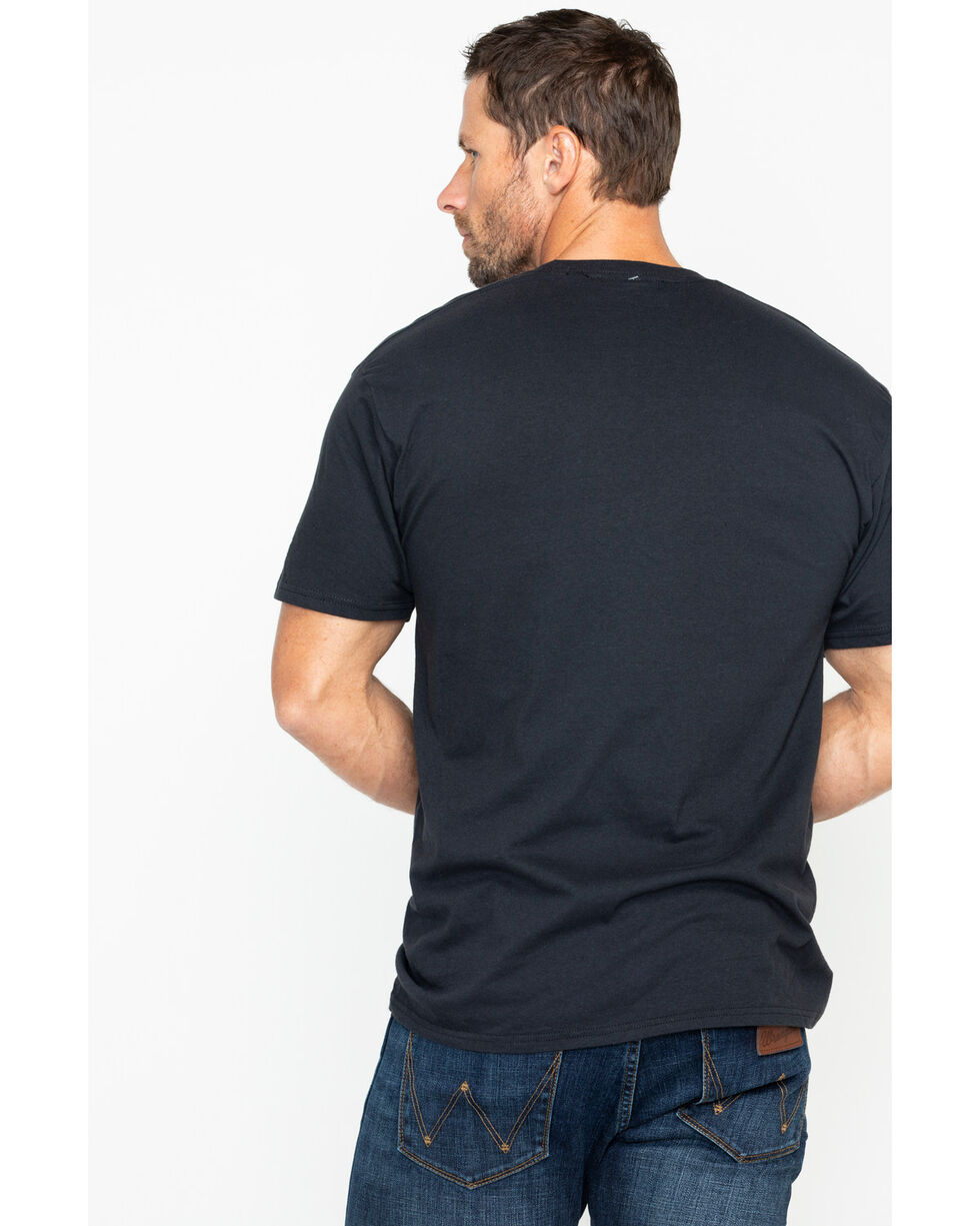 Cody James Men's Ya Herd Cow Graphic T-Shirt , Black, hi-res