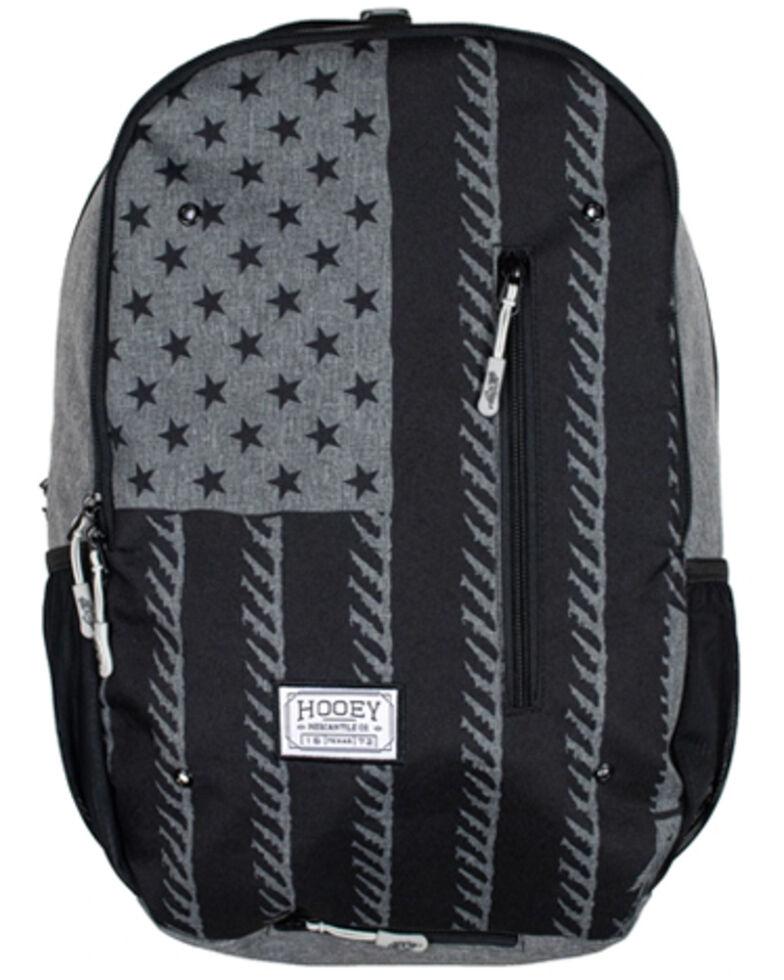 HOOey Boys' Rockstar Americana Backpack, Charcoal, hi-res