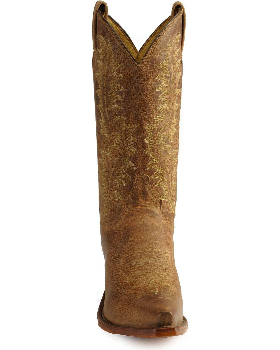 Tony Lama El Paso Boots - Snip Toe, Tan, hi-res
