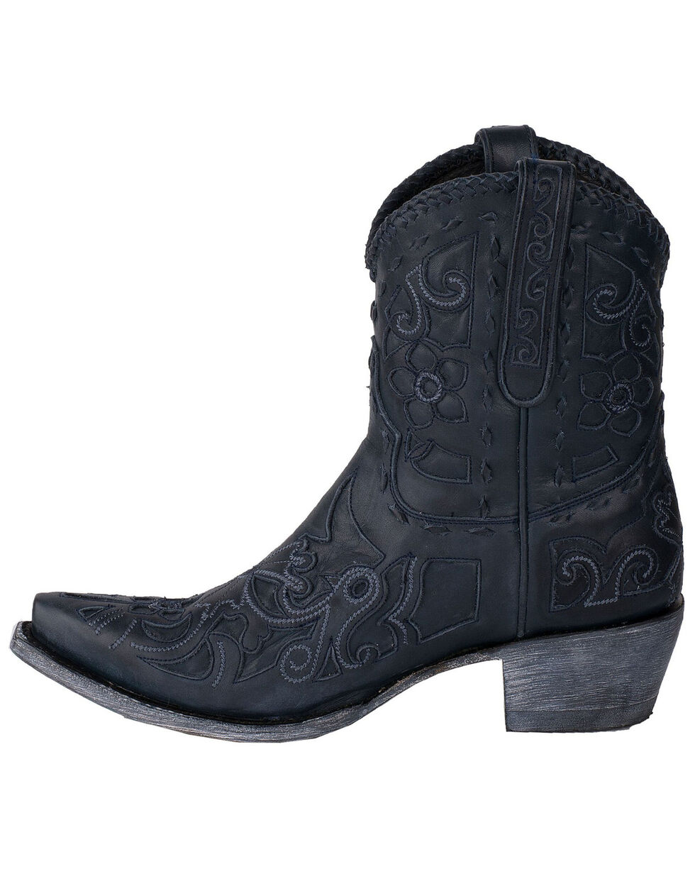 Lane Women's Robin Booties - Snip Toe, Navy, hi-res