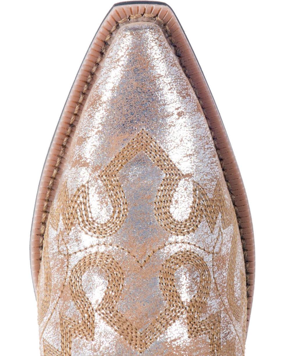 Laredo Women's Tan Erika Cowgirl Boots - Snip Toe , Tan, hi-res
