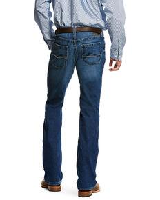 Ariat Men's M5 Forged Slim Bootcut Jeans , Indigo, hi-res