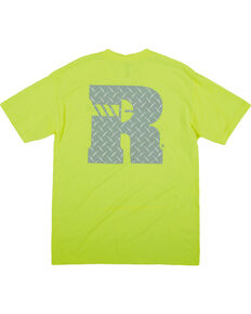 Wrangler Riggs Men's Short Sleeve Graphic Work T-Shirt , Green, hi-res
