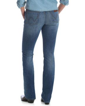 Wrangler Women's Medium Wash Retro Mae Jeans, Indigo, hi-res