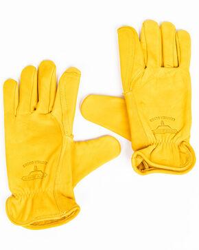 Cody James Men's Lined Rancher Work Gloves, Brown, hi-res