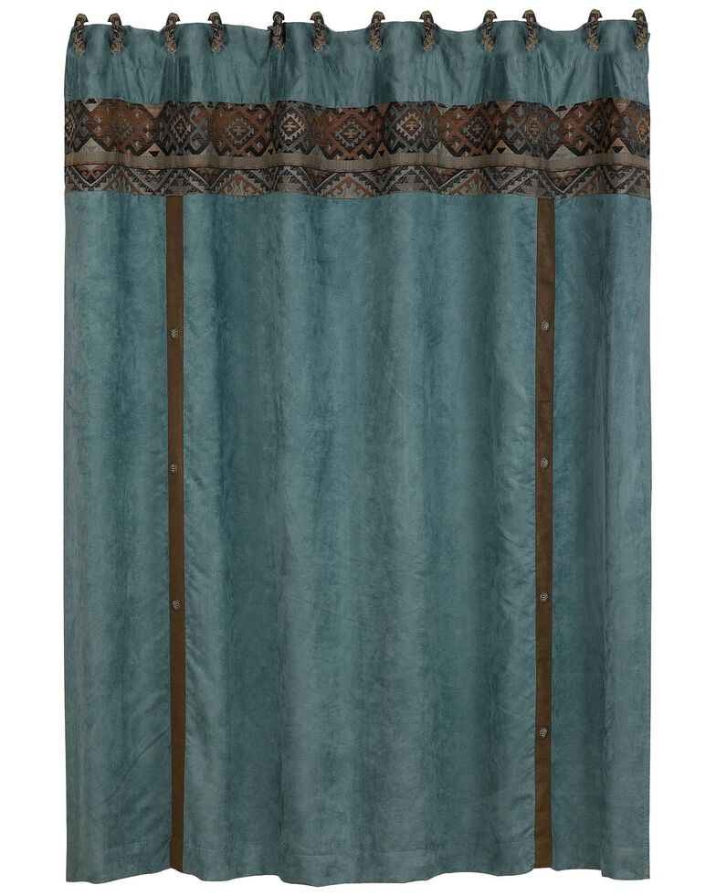 HiEnd Accents Del Rio Shower Curtain, Multi, hi-res