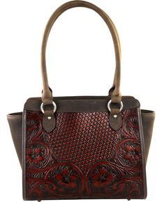 Montana West Delila 100% Genuine Leather, Coffee, hi-res
