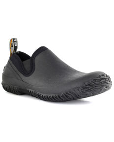 Bogs Men's Urban Walker Slip-On Shoes - Round Toe, Black, hi-res