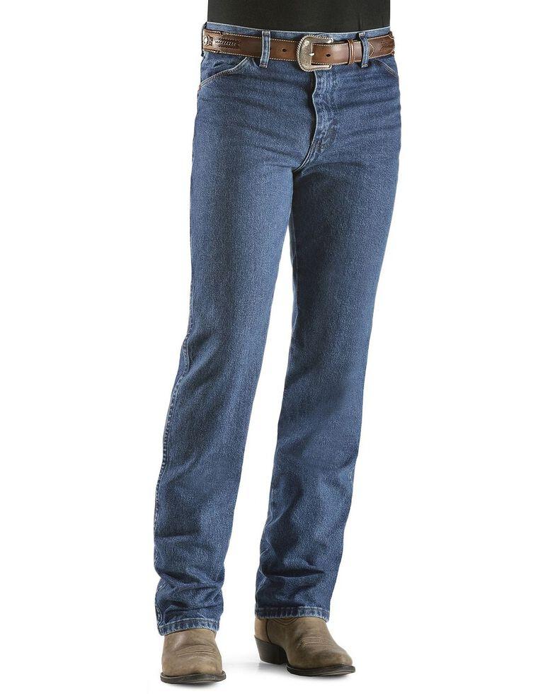 Wrangler Men's 936 Cowboy Cut Slim Fit Prewashed Jeans, Dark Stone, hi-res