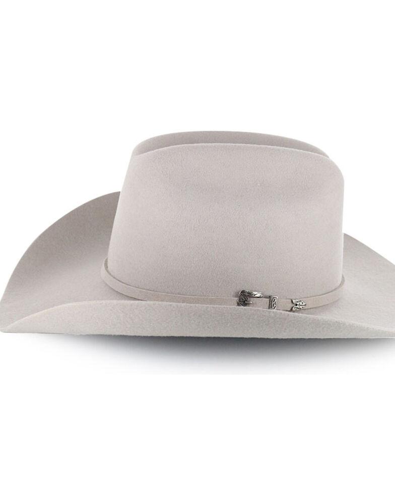Cody James® Men's Moab 3X Pro Rodeo Brim Wool Hat, Silverbelly, hi-res