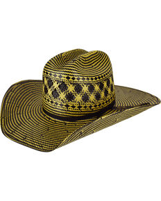 Bailey Men's Double Tall 10X Straw Cowboy Hat, Multi, hi-res