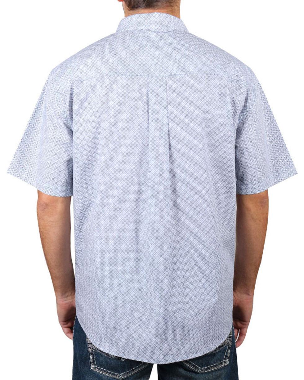 Cody James® Men's Button Down Short Sleeve Shirt , White, hi-res