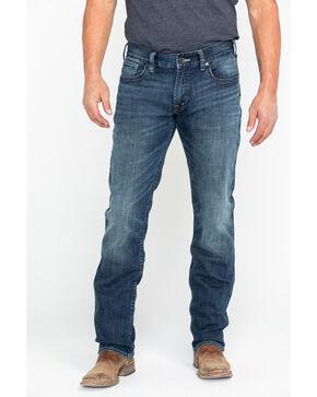 Silver Men's Allan Slim Fit Straight Jeans, Indigo, hi-res