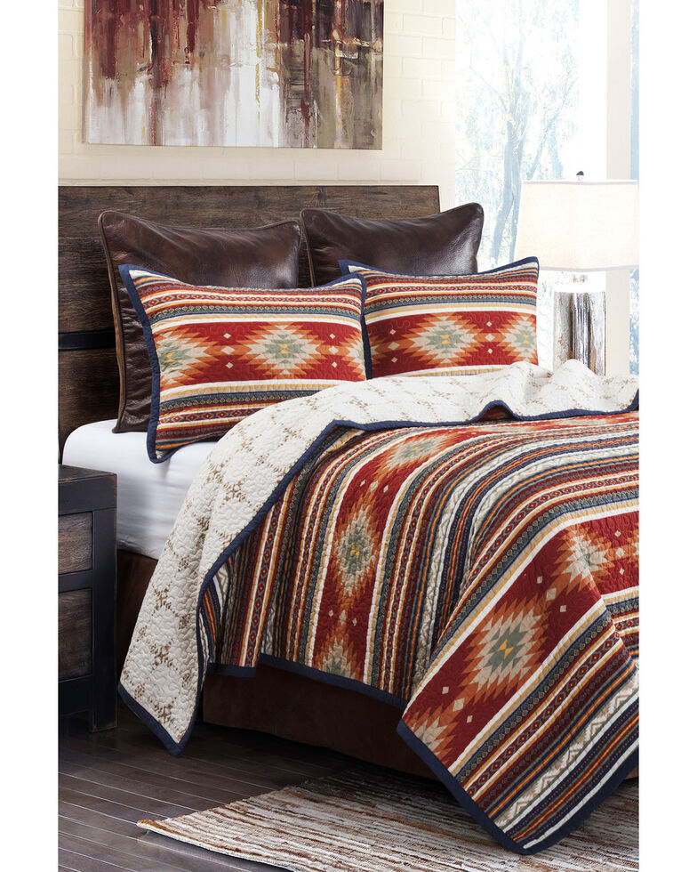 HiEnd Accents Del Sol Quilt - Twin, Brown, hi-res