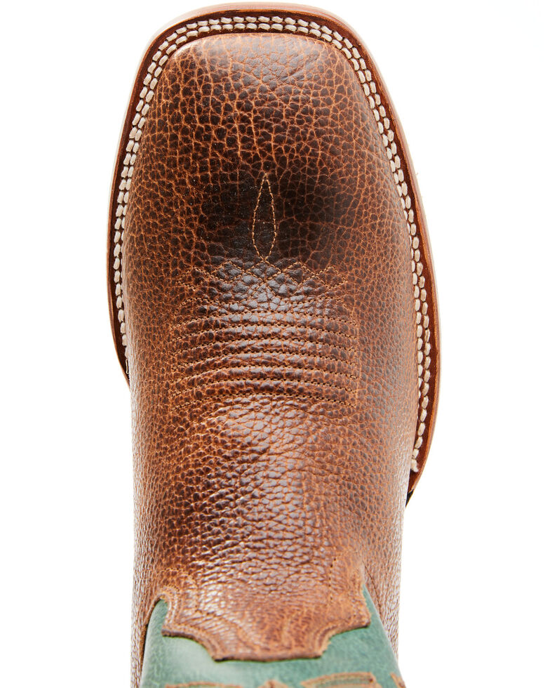 Cody James Men's Maximo Western Boots - Wide Square Toe, Brown, hi-res