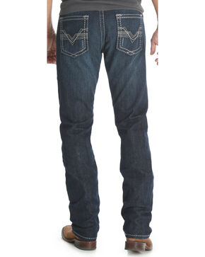 Wrangler Rock 47 Men's Verse Blue Slim Fit Jeans - Straight Leg  , Blue, hi-res