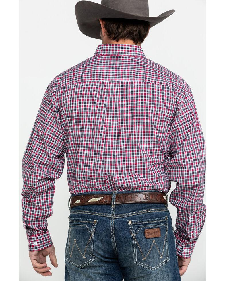Cinch Men's Multi Small Plaid Long Sleeve Western Shirt, Multi, hi-res