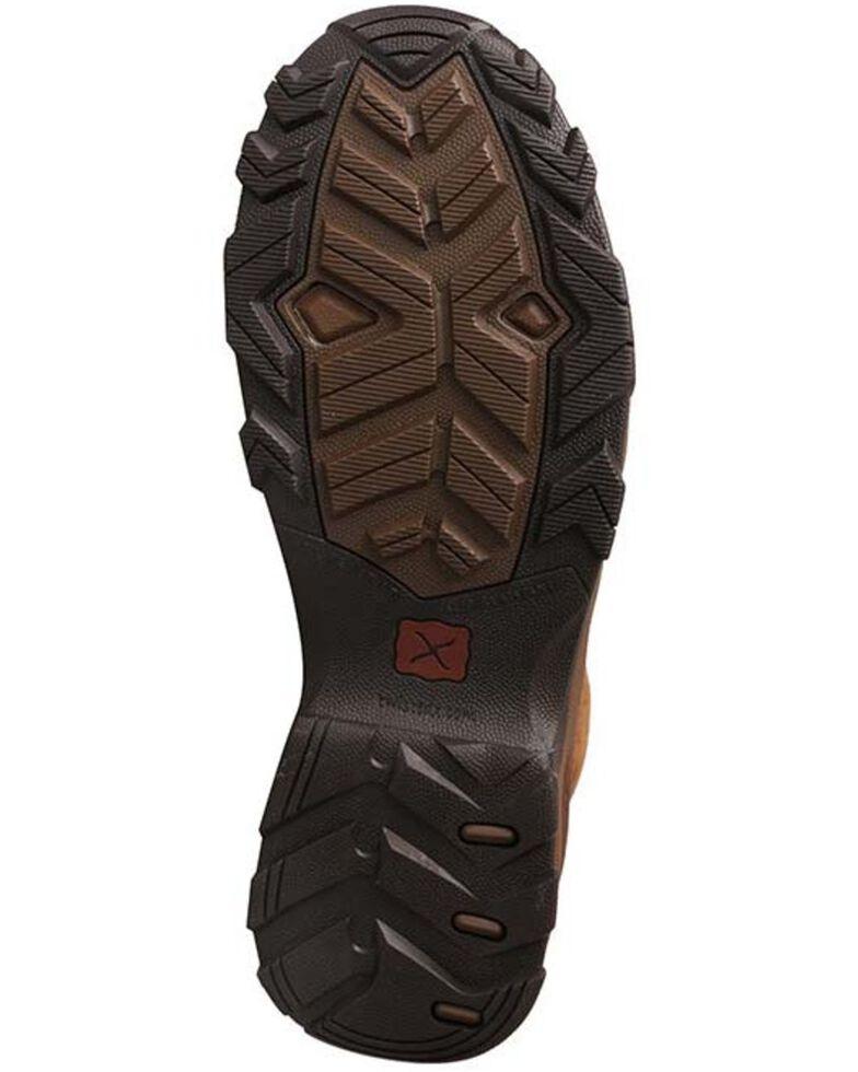 Twisted X Men's Waterproof Work Hiker Boots - Composite Toe, Dark Brown, hi-res
