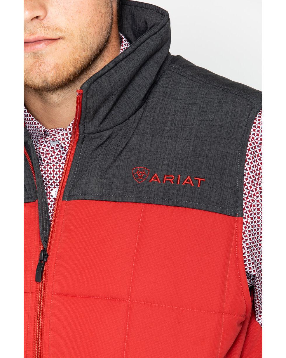 Ariat Men's Crius Insulated Vest, Red, hi-res