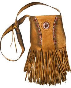 Kobler Leather Shoulder Bag , Khaki, hi-res