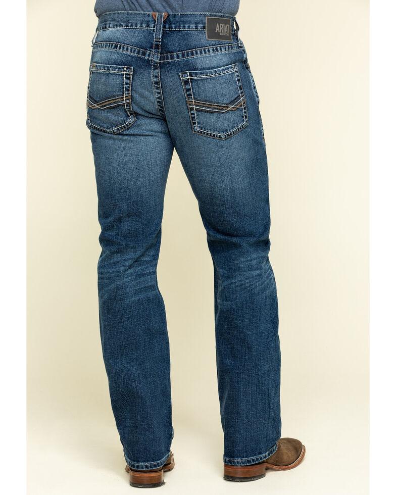 Ariat Men's M5 Summerland Heath Stackable Slim Straight Jeans , Blue, hi-res